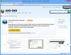 Gmail Firefox Addons