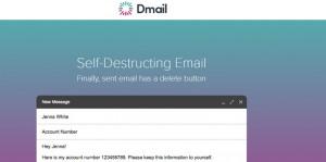 Self Destructing Emails
