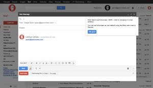gmail full screen option