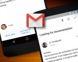 Gmail smart reply set