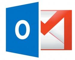 Outlook-v-Gmail Logos
