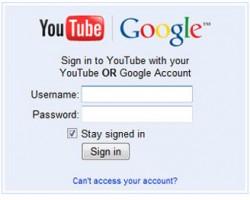 youtube signin