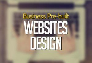 pre-built website